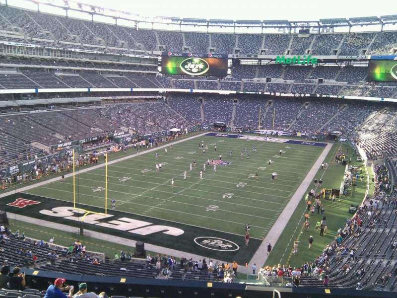 Seating view for MetLife Stadium Section 223 Row 12 Seat 3