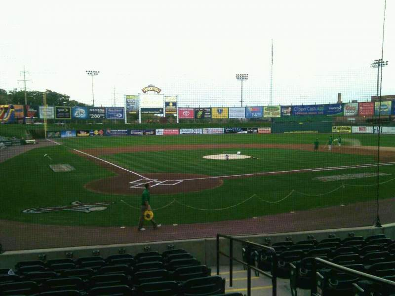 Seating view for Clipper Magazine Stadium Section 11 Row k Seat 2