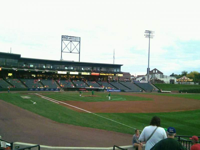 Seating view for Clipper Magazine Stadium Section 2 Row i Seat 2