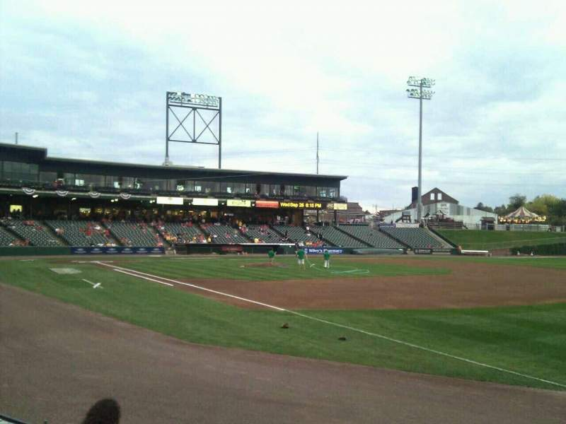 Seating view for Clipper Magazine Stadium Section 2 Row e Seat 5