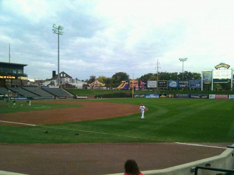 Seating view for Clipper Magazine Stadium Section 3 Row e Seat 5