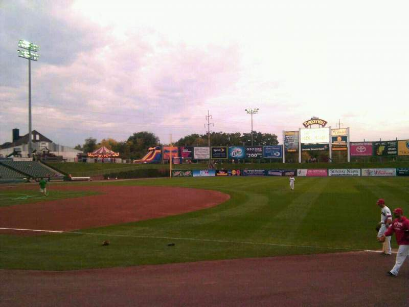 Seating view for Clipper Magazine Stadium Section 4 Row e Seat 5