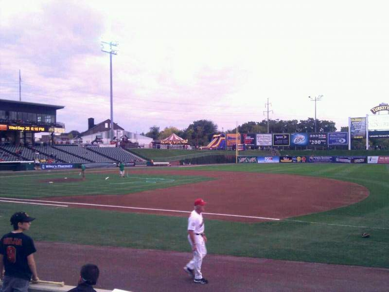 Seating view for Clipper Magazine Stadium Section 5 Row e Seat 5