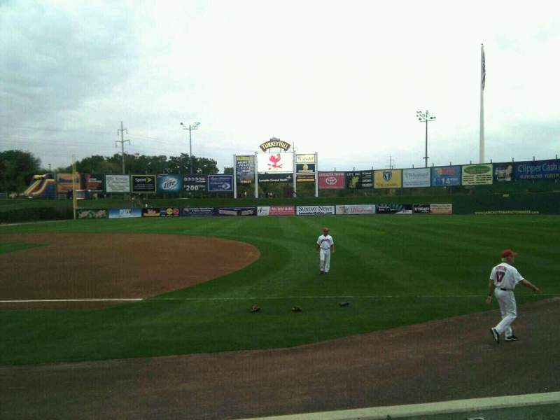 Seating view for Clipper Magazine Stadium Section 6 Row e Seat 5