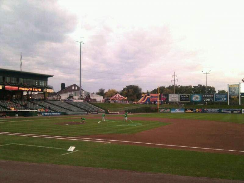 Seating view for Clipper Magazine Stadium Section 7 Row e Seat 5