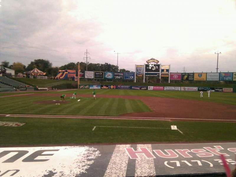 Seating view for Clipper Magazine Stadium Section 8 Row f Seat 5