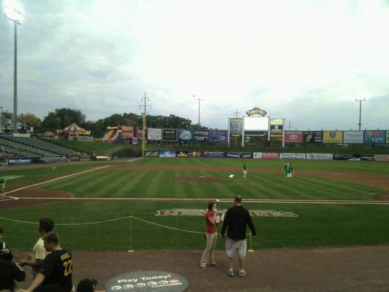 Seating view for Clipper Magazine Stadium Section 10 Row f Seat 5