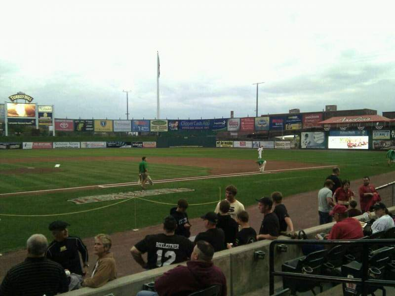 Seating view for Clipper Magazine Stadium Section 11 Row e Seat 5