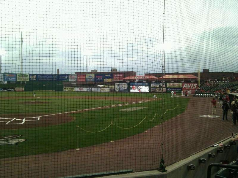 Seating view for Clipper Magazine Stadium Section 14 Row e Seat 5