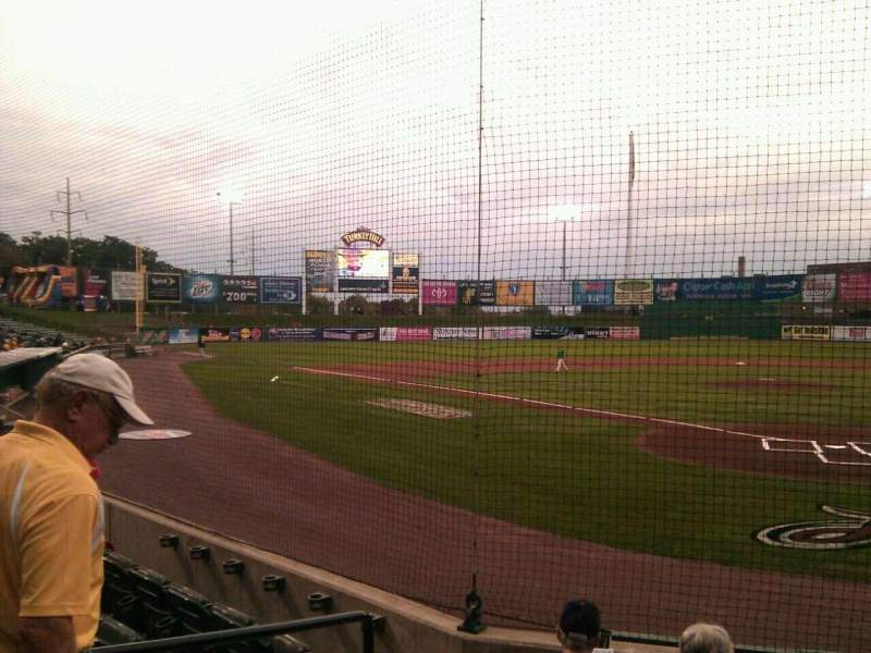 Seating view for Clipper Magazine Stadium Section 15 Row e Seat 5