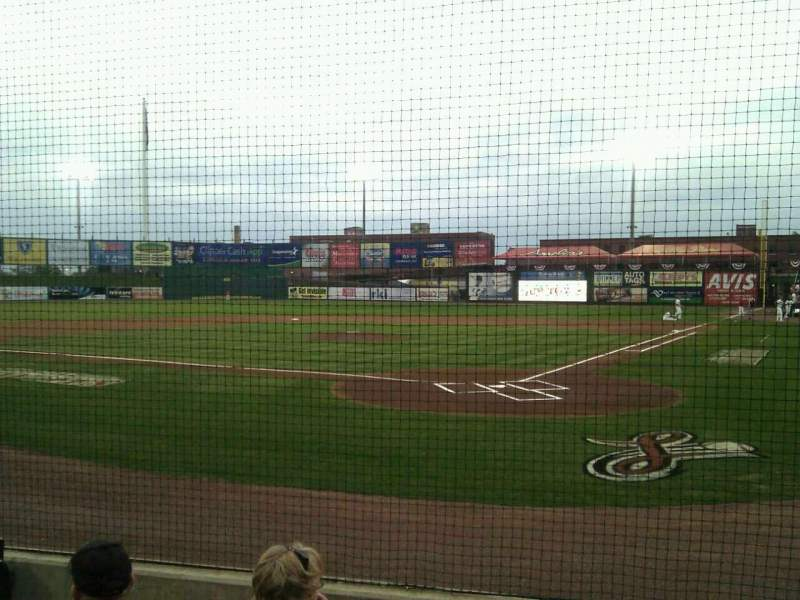 Seating view for Clipper Magazine Stadium Section 16 Row e Seat 5