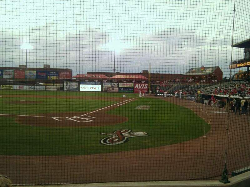 Seating view for Clipper Magazine Stadium Section 17 Row e Seat e