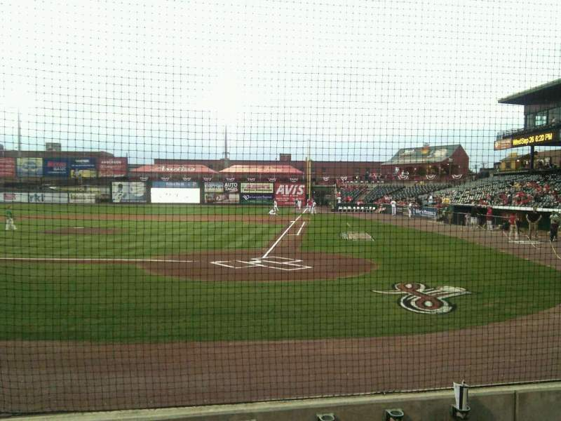 Seating view for Clipper Magazine Stadium Section 17 Row e Seat 5