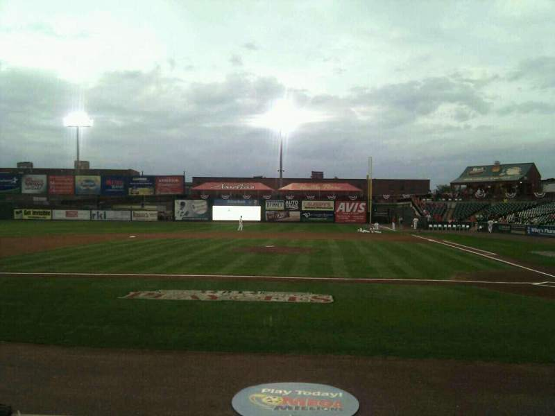Seating view for Clipper Magazine Stadium Section 19 Row e Seat 5