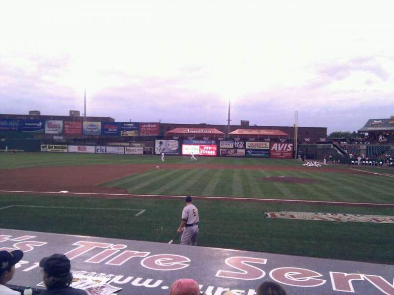 Seating view for Clipper Magazine Stadium Section 20 Row e Seat 5
