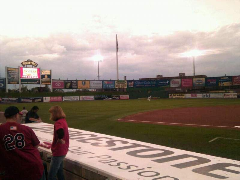 Seating view for Clipper Magazine Stadium Section 21 Row e Seat 5