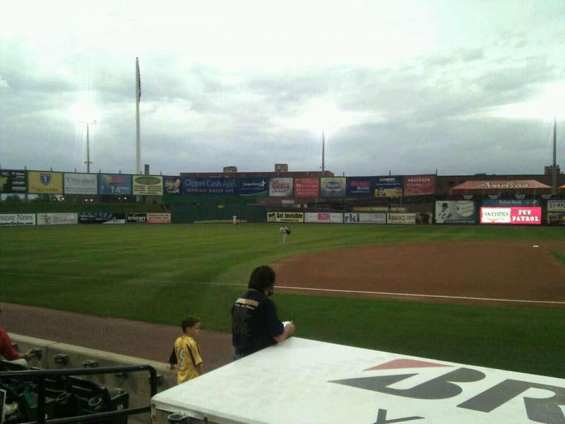 Seating view for Clipper Magazine Stadium Section 22 Row e Seat 5