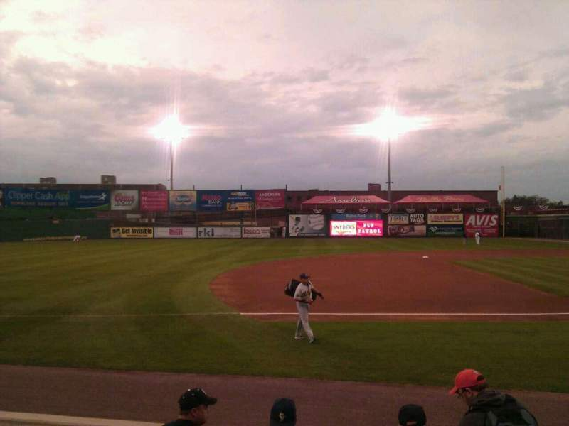 Seating view for Clipper Magazine Stadium Section 23 Row e Seat 5