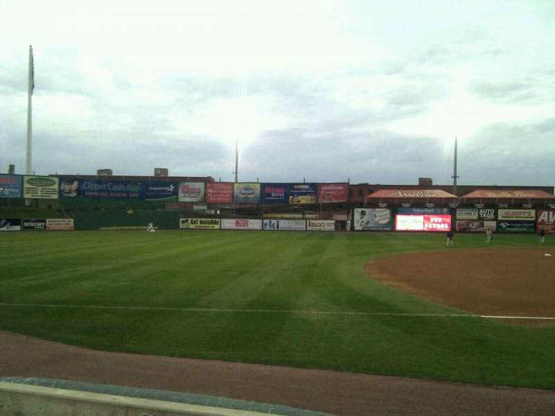 Seating view for Clipper Magazine Stadium Section 24 Row e Seat 5