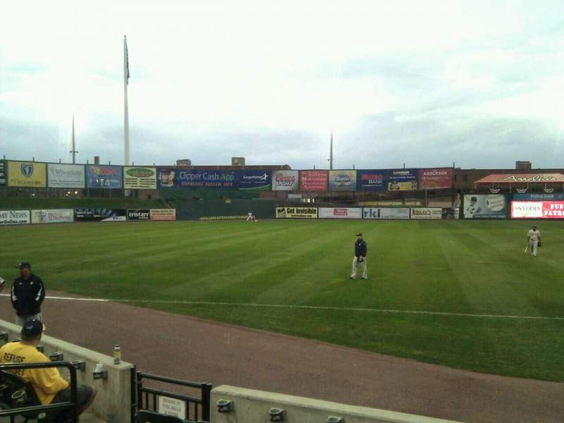 Seating view for Clipper Magazine Stadium Section 25 Row e Seat 5