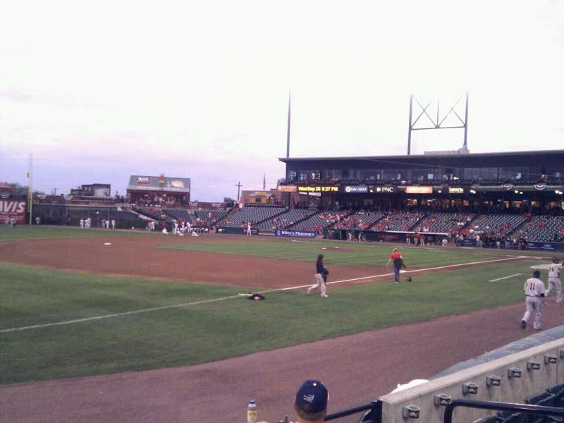 Seating view for Clipper Magazine Stadium Section 26 Row e Seat 5