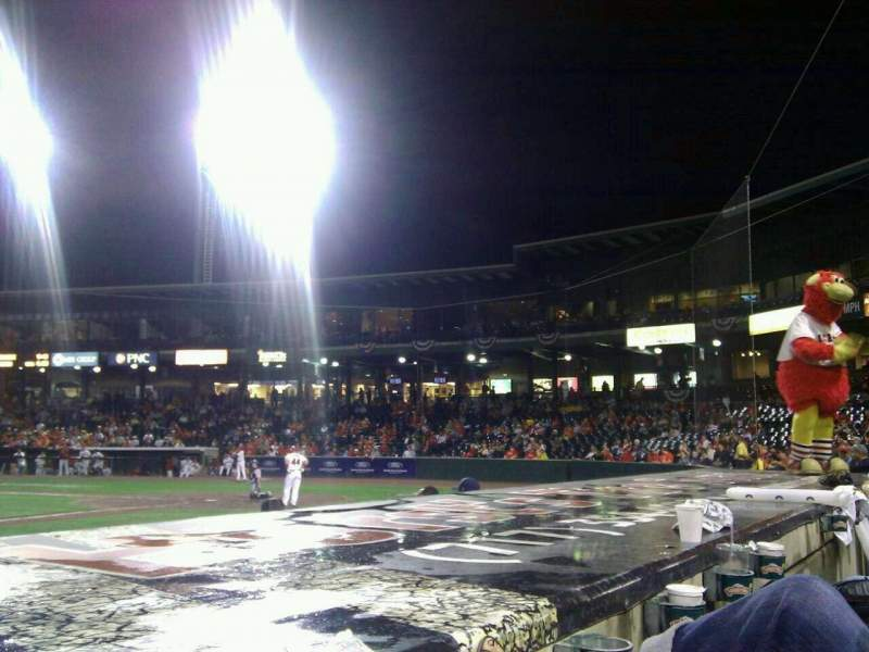 Seating view for Clipper Magazine Stadium Section 21 Row c Seat 7