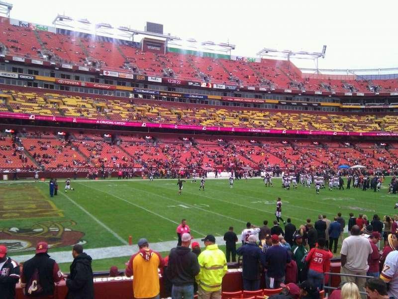 FedEx Field, section: 126, row: 11, seat: 10