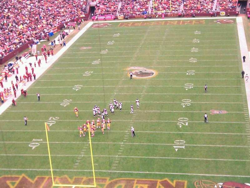 Seating view for FedEx Field Section 440 Row 9 Seat 2