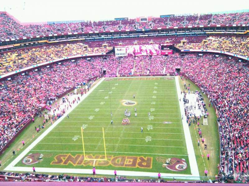 Seating view for FedEx Field Section 440 Row 9 Seat 3