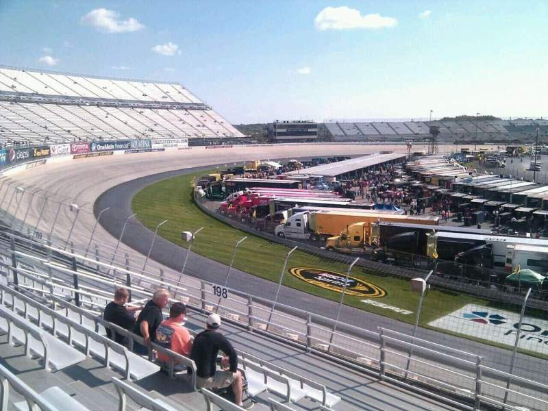 Seating view for Dover International Speedway Section 197 Row 9 Seat 9