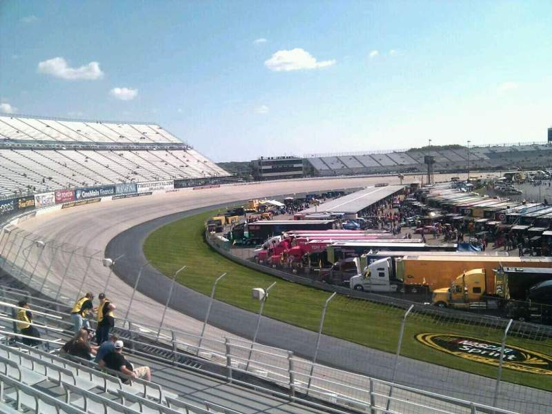Seating view for Dover International Speedway Section 199 Row 9 Seat 9
