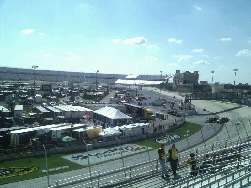 Seating view for Dover International Speedway Section 201 Row 9 Seat 9
