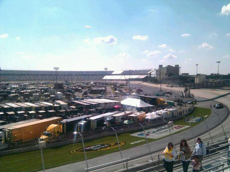 Seating view for Dover International Speedway Section 203 Row 9 Seat 9