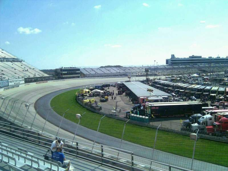 Seating view for Dover International Speedway Section 205 Row 9 Seat 9