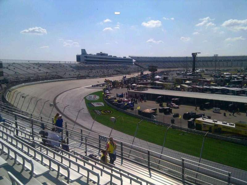 Seating view for Dover International Speedway Section 219 Row 9 Seat 9