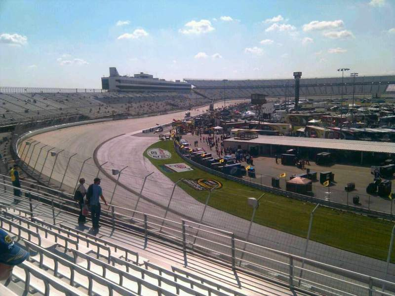 Seating view for Dover International Speedway Section 221 Row 9 Seat 9
