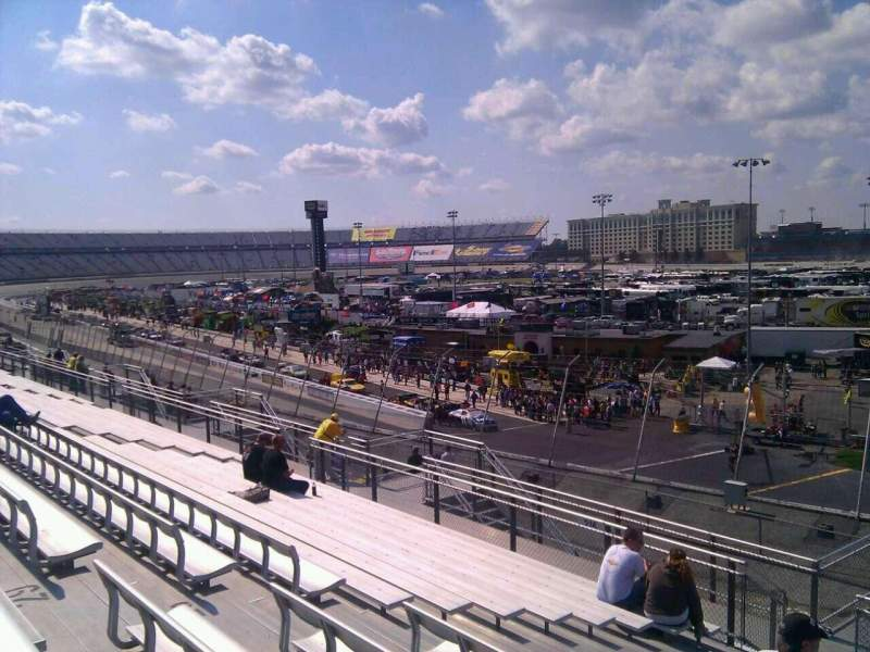 Seating view for Dover International Speedway Section 235 Row 30 Seat 9