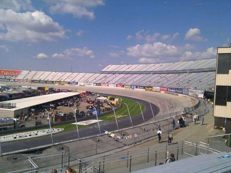 Seating view for Dover International Speedway Section 236 Row 30 Seat 9