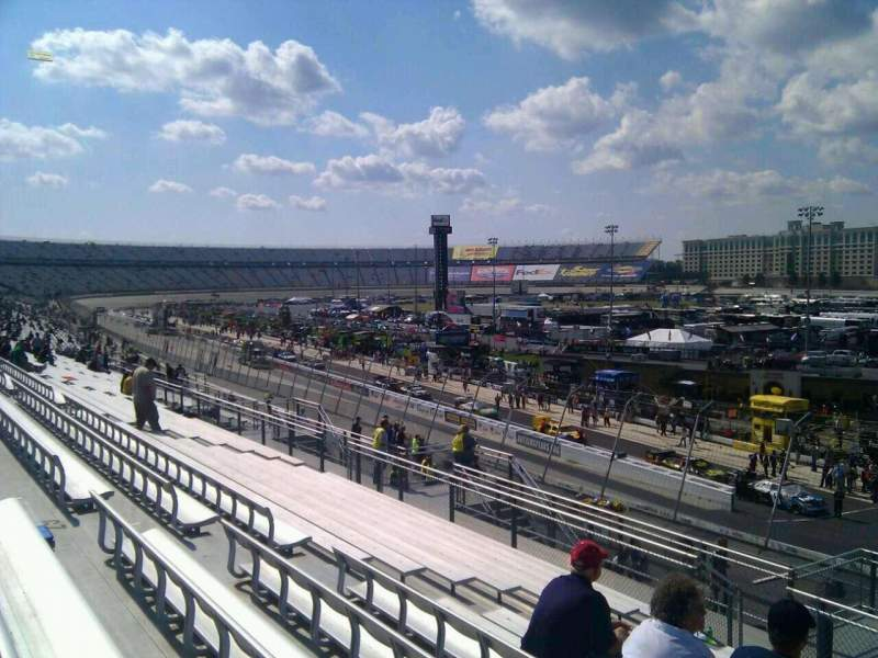 Seating view for Dover International Speedway Section 237 Row 30 Seat 9