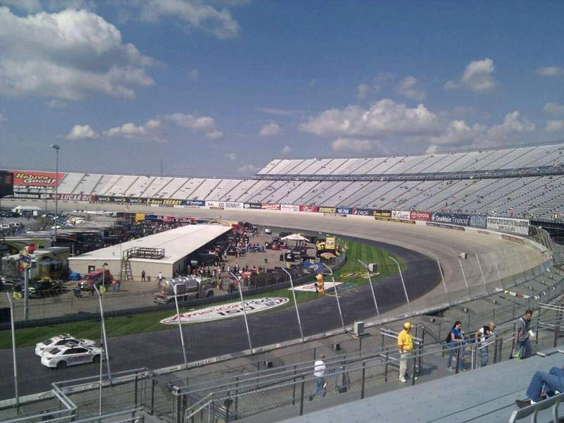 Seating view for Dover International Speedway Section 238 Row 30 Seat 9
