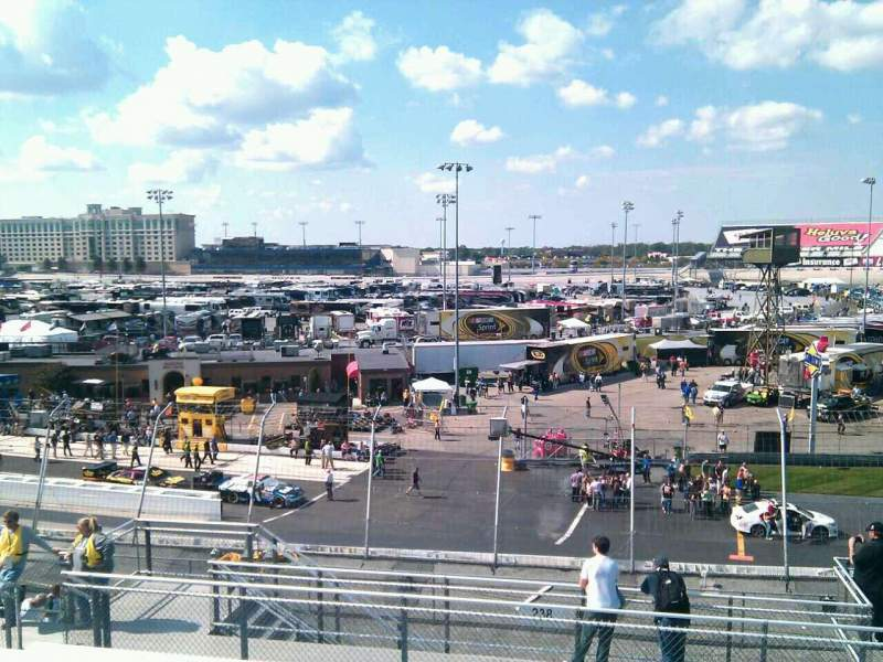 Seating view for Dover International Speedway Section 239 Row 30 Seat 9