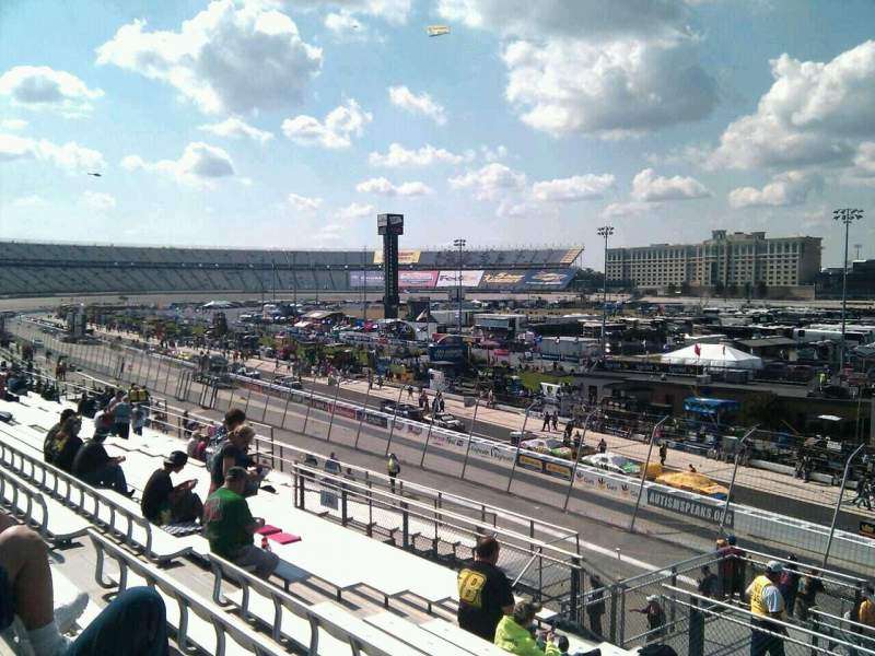 Seating view for Dover International Speedway Section 240 Row 30 Seat 9