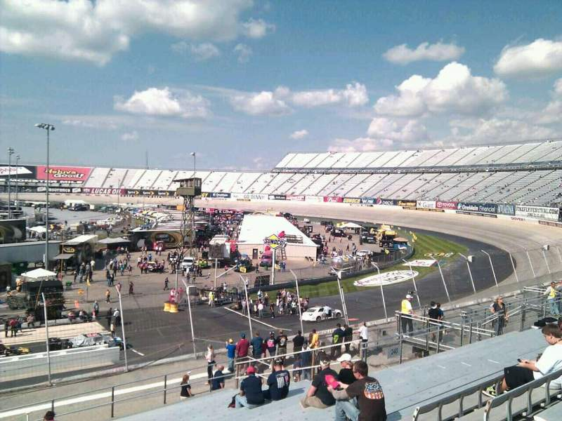 Seating view for Dover International Speedway Section 241 Row 30 Seat 9