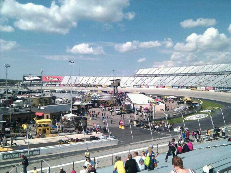 Seating view for Dover International Speedway Section 242 Row 30 Seat 9