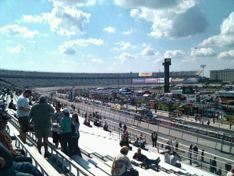 Seating view for Dover International Speedway Section 243 Row 30 Seat 9