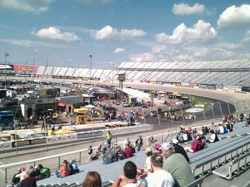 Seating view for Dover International Speedway Section 244 Row 30 Seat 9