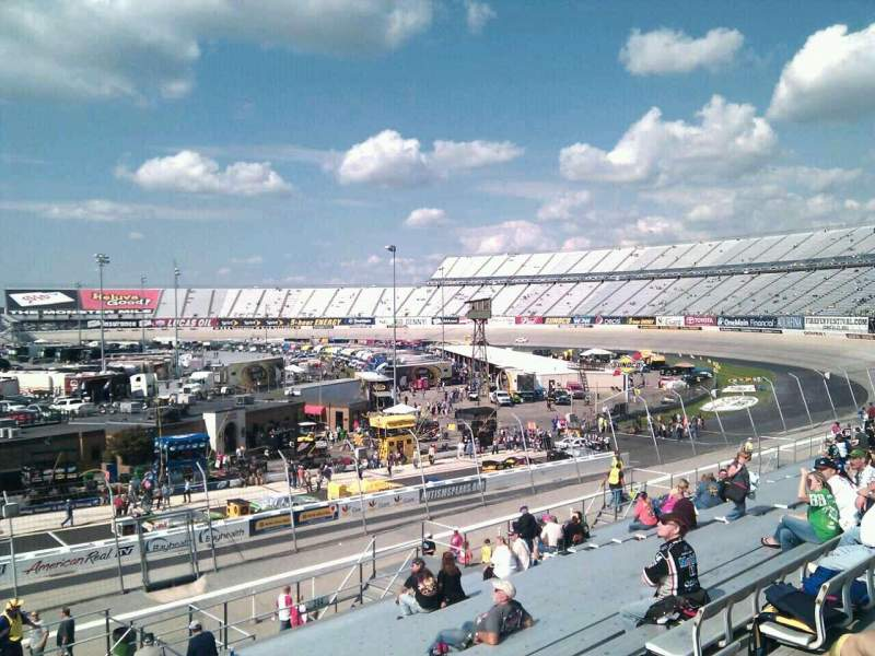 Seating view for Dover International Speedway Section 245 Row 30 Seat 9