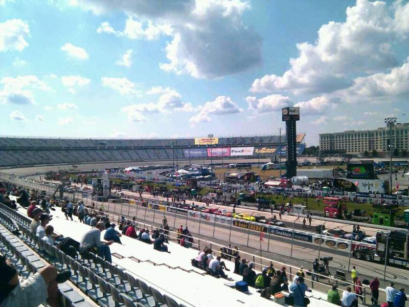 Seating view for Dover International Speedway Section 246 Row 30 Seat 9