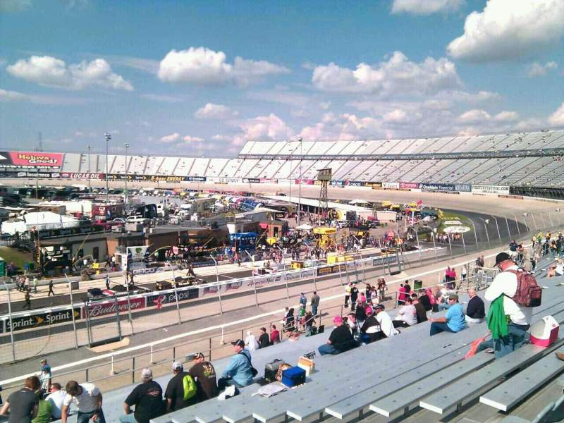 Seating view for Dover International Speedway Section 247 Row 30 Seat 9