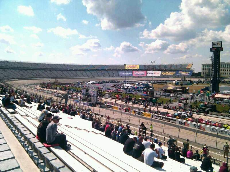 Seating view for Dover International Speedway Section 248 Row 30 Seat 9